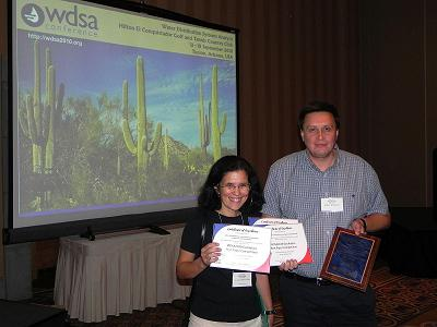 CWSNet awarded at WDSA 2010