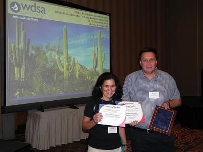 CWSNet awarded at WDSA 2010