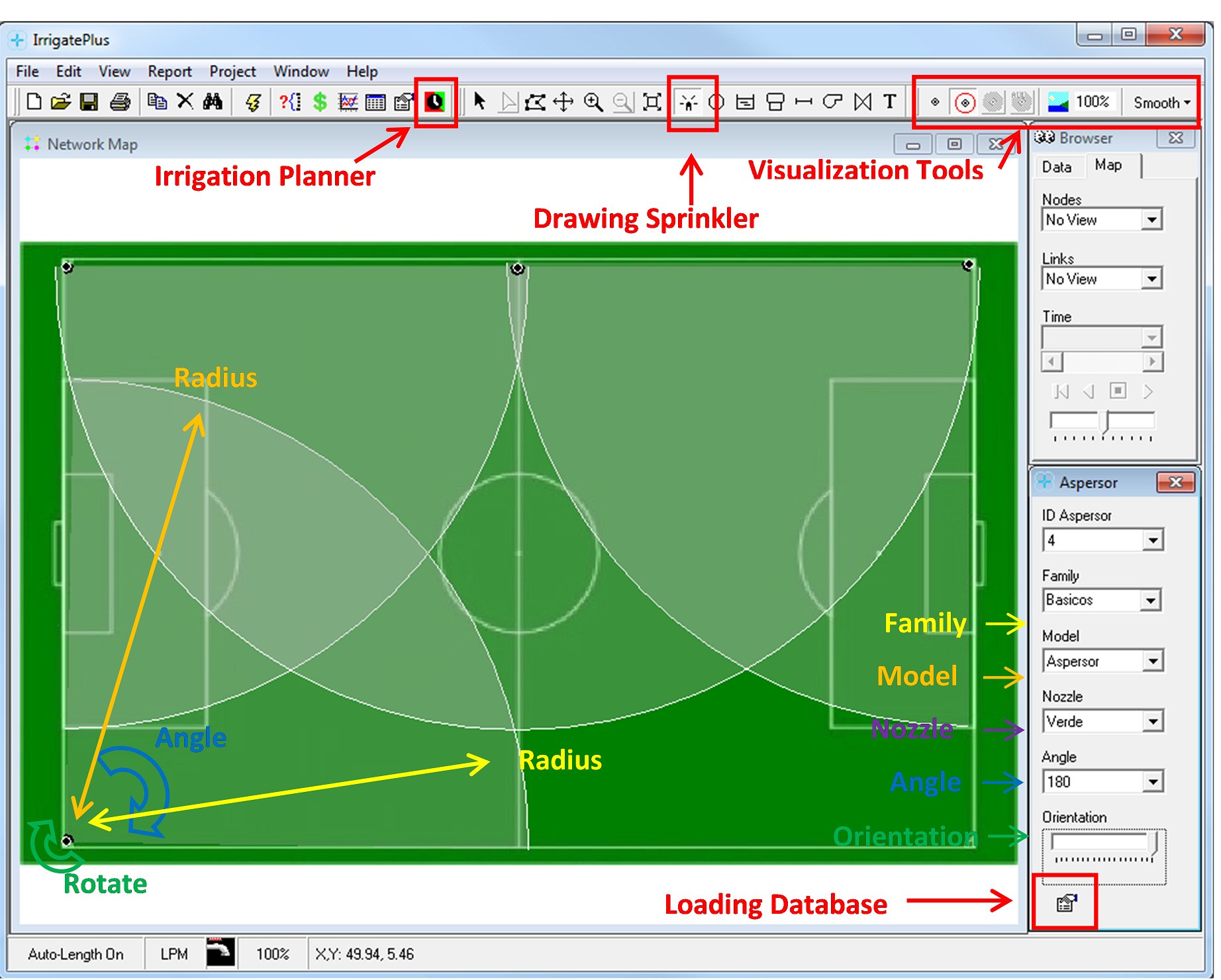 Irrigateplus Epanet Irrigation Software Water Simulation